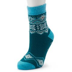 Women's Columbia Fairisle Thermal Crew Socks