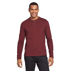 Men's Van Heusen Never Tuck Slim-Fit Henley