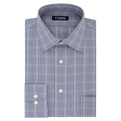 Men's Chaps Regular-Fit No-Iron Stretch Spread-Collar Dress Shirt