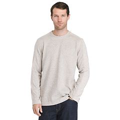 Men's Van Heusen Classic-Fit Never Tuck Sweater Fleece Pullover