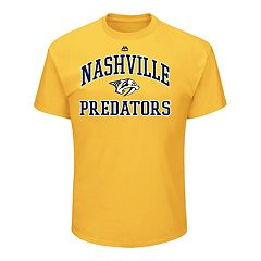 Men's Majestic Nashville Predators Heart & Soul Tee