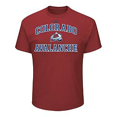 Men's Majestic Colorado Avalanche Heart & Soul Tee