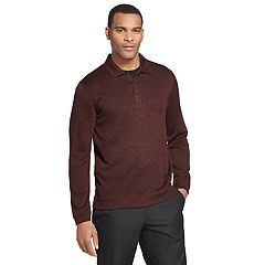 Men's Van Heusen Melange Polo