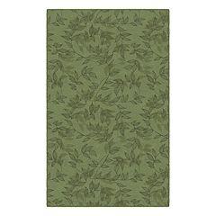 Brumlow Mills Entwined Floral Printed Rug