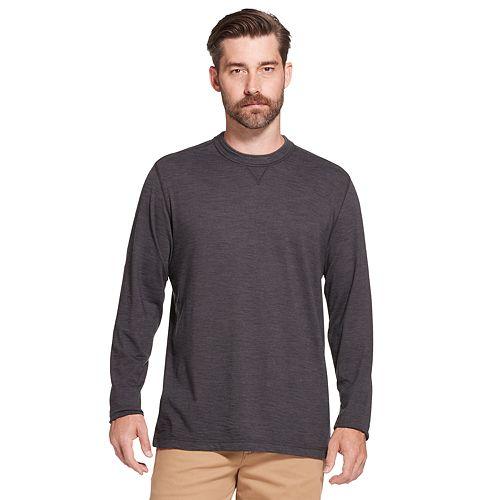 Men's Arrow Classic-Fit Striped Mock-Layer Tee