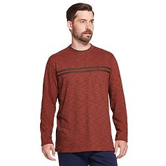 Men's Arrow Classic-Fit Striped Mock-Layer Tee