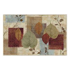 Brumlow Mills Leaf Study Pattern Printed Rug