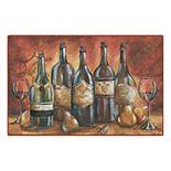 Brumlow Mills Wine Landscape Printed Rug