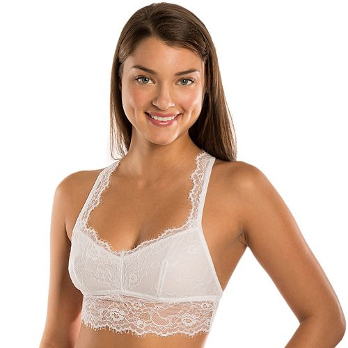 Candie's® Bras: Eyelash Lace Bralette