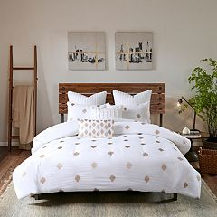 INK+IVY Stella Dot 3-piece Cotton Percale Duvet Cover Set