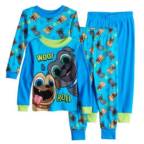 Disney S Puppy Dog Pals Roly Bingo Top Bottoms Pajama Set