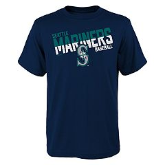 Boys 4-18 Seattle Mariners Meshed Up Tee