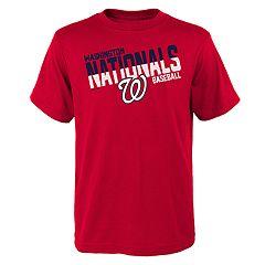 Boys 4-18 Washington Nationals Meshed Up Tee