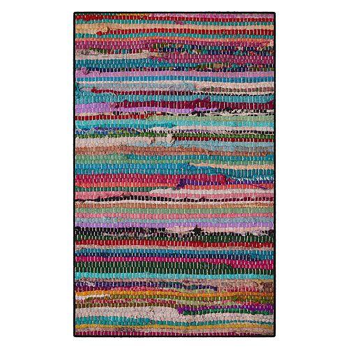 Brumlow Mills Rag Patterned Printed Rug