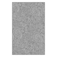 Brumlow Mills Delicate Paisley Printed Rug