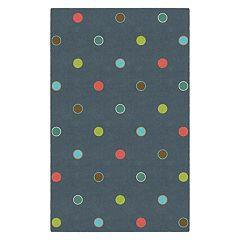 Brumlow Mills Casual Polka Dots Printed Rug