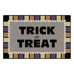 Brumlow Mills Trick or Treat Festive Halloween Printed Rug