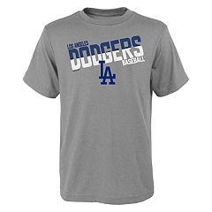 Boys 4-18 Los Angeles Dodgers Meshed Up Tee