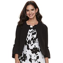 Women's ELLE™ Bell-Sleeve Ponte Jacket