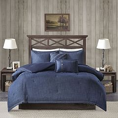 Woolrich Perry Oversized Denim Comforter Set