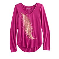 Girls 7-16 Mudd® Cage Tee