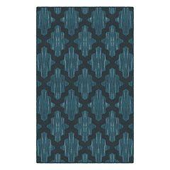 Brumlow Mills Ikat Moroccan Trellis Printed Rug