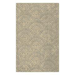 Brumlow Mills Art Deco Geometric Printed Rug