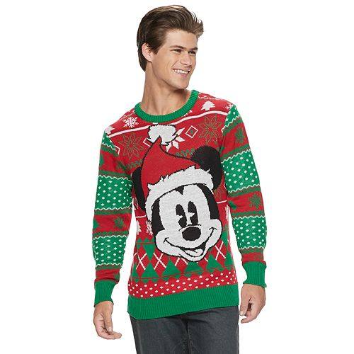 mens disney mickey mouse christmas sweater - Mickey Mouse Christmas Sweater