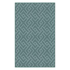 Brumlow Mills Traditional Lattice Printed Rug