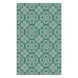 Brumlow Mills Lucy Geometric Floral Printed Rug