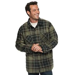 Men's Anchorage Expedition Classic-Fit Plaid Fleece Shirt Jacket