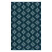 Brumlow Mills Traditional Geometric Trellis Printed Rug