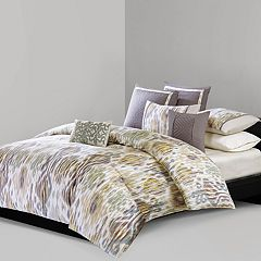 N Natori Tboli 3-piece Queen Duvet Cover Set