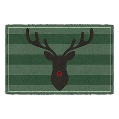 Brumlow Mills Rudolph the Red Nosed Reindeer Printed Rug