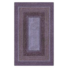 Brumlow Mills Braided Printed Rug