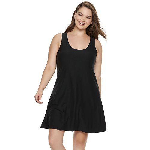 Juniors' Plus Size Mudd® Cross Back Sueded Jersey Dress