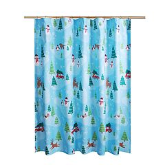 St. Nicholas Square® Holiday Cheer Scenic Shower Curtain