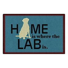 Brumlow Mills Home is Where the Lab is Printed Rug