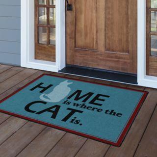 Brumlow Mills Home is Where the Cat is Printed Rug