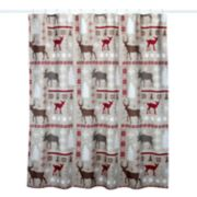 St. Nicholas Square® Through The Woods Patchwork Shower Curtain