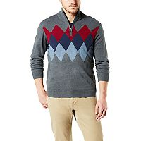 Deals on Dockers Classic-Fit Marled Men's Quarter-Zip Sweater