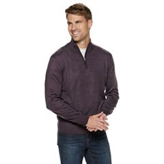 Men's Dockers® Classic-Fit Marled Quarter-Zip Sweater