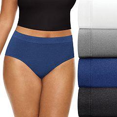 Women's Playtex 4-pack ComfortSoft Brief Panties PLCSBF