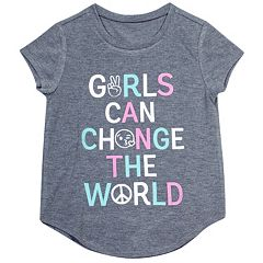 Girls 7-16 & Plus Size Harper & Elliott Curve Hem Graphic Tee