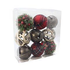 SONOMA Goods for Life™ Plaid Woodland Sphere Vase Filler 9-piece Set
