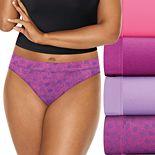 Women's Playtex 4-pack ComfortSoft Bikini Panties PLCSBK