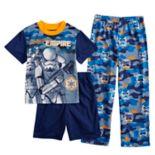 Boys 6-12  Star Wars Storm Trooper 3-Piece Pajama Set