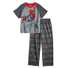 Boys 4-10 Spider-Man 2-Piece Pajama Set
