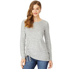 Juniors' Wallflower Cinched Top