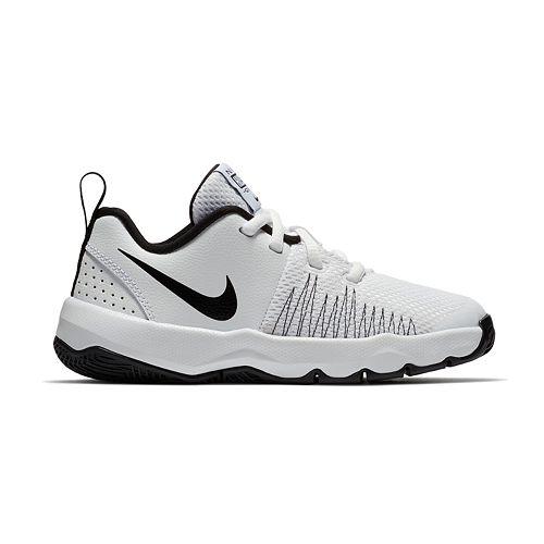 75abe80f13df Nike Team Hustle Quick Pre-School Boys  Basketball Shoes
